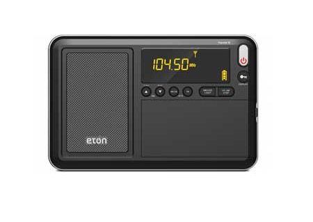 Eton - TRAVELERIII - Clocks & Personal Radios