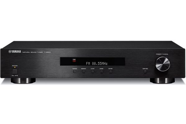Yamaha AM/FM Stereo Black Tuner - T-S500BL