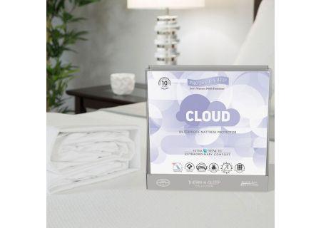 Protect-A-Bed King Cloud Extra-Soft Tencel Waterproof Mattress Pad Protector - TSC0142