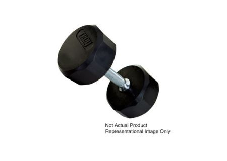 TROY Barbell 20lb Rubber Encased Dumbbell - TSD-020R