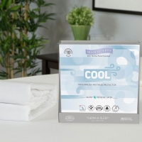Protect-A-Bed King Cool Moisture-Wicking Tencel Waterproof Mattress Pad Protector