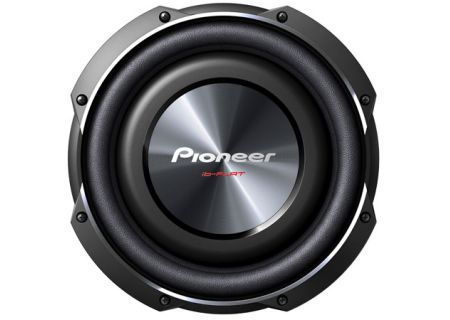 """Pioneer 10"""" Shallow Mount Subwoofer - tssw2502s4"""