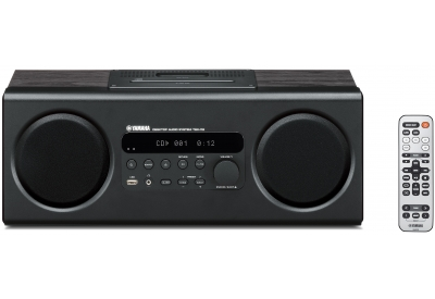 Yamaha - TSX-112 BLACK - Mini Systems & iPod Docks