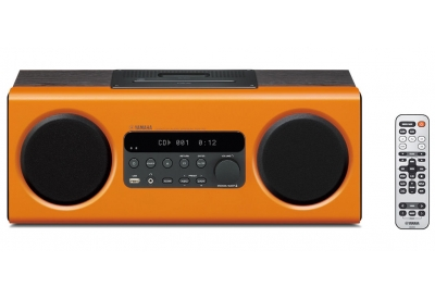Yamaha - TSX-112 ORANGE - Mini Systems & iPod Docks