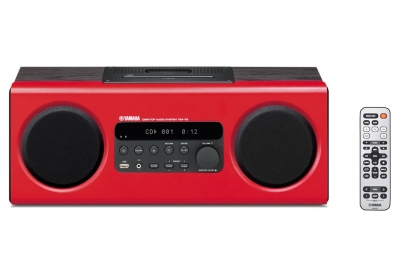 Yamaha - TSX-112 RED - Mini Systems & iPod Docks