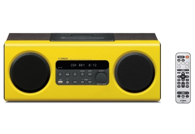 Yamaha - TSX-112 YELLOW - Mini Systems & iPod Docks