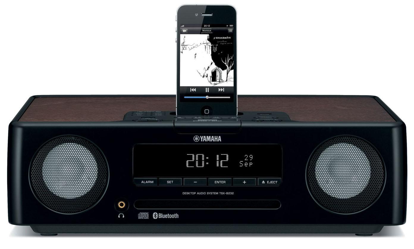 Yamaha Black Desktop Audio System Tsxb235bl