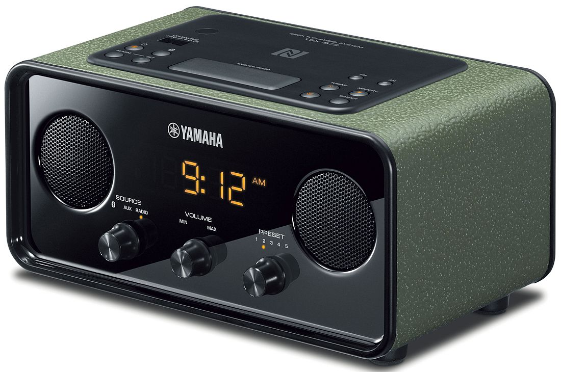 Yamaha dark green desktop audio system tsx b72gn abt for Yamaha stereo systems