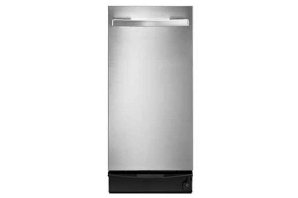 """Large image of Whirlpool 15"""" Stainless Steel Undercounter Trash Compactor  - TU950QPXS"""
