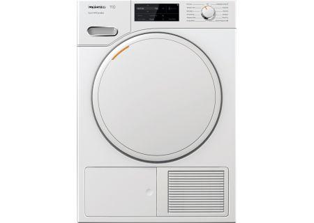 Miele T1 Lotus White Electric Dryer - 12WF1602USA