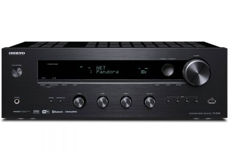 Onkyo Black Network Stereo Receiver - TX-8140