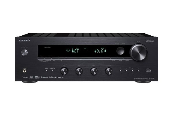 Large image of Onkyo Black Network Stereo Receiver - TX-8270