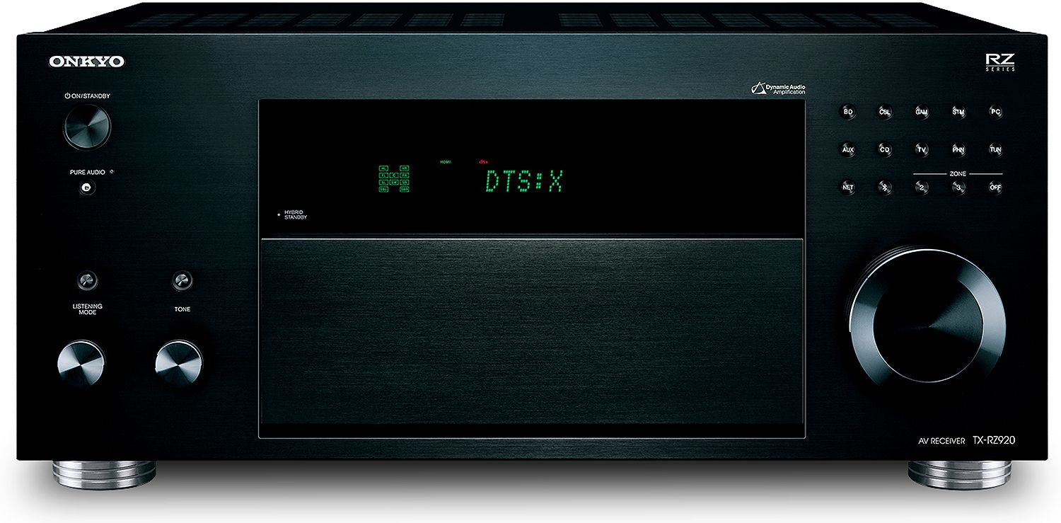 Onkyo 92 Channel Black Network Av Receiver Tx Rz920 Ohm Subwoofer Wiring Diagram As Well 4 Speakers For Receivers