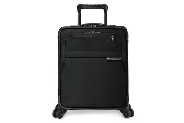 Briggs & Riley Black International Carry-On Expandable Wide-Body Spinner  - U121CXSPW-4