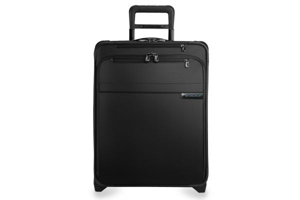 Large image of Briggs & Riley Black International Carry-On Expandable Wide-Body Upright  - U121CXW-4