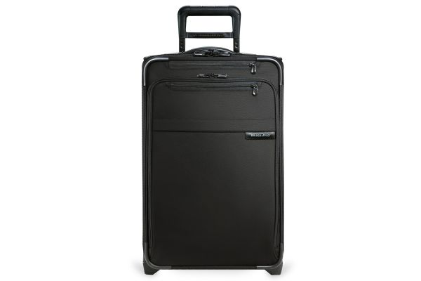 Large image of Briggs & Riley Black Domestic Carry-On Expandable Upright - U122CX-4