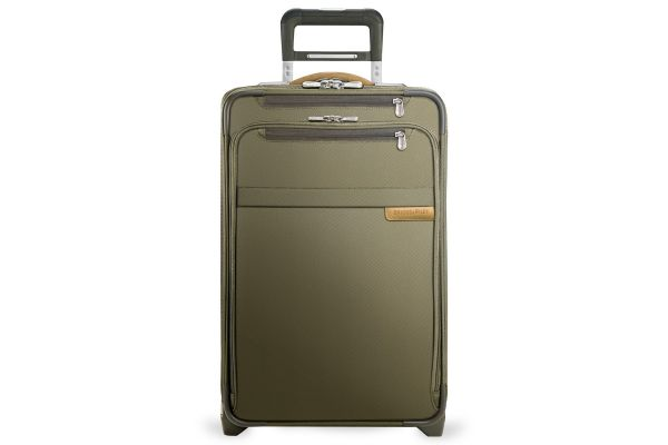 Large image of Briggs & Riley Olive Domestic Carry-On Expandable Upright  - U122CX-7