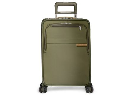 Briggs & Riley Olive Domestic Carry-On Expandable Spinner - U122CXSP-7