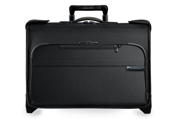 Large image of Briggs & Riley Black Carry-On Wheeled Garment Bag  - U174-4