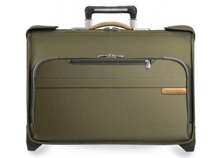 Briggs & Riley Olive Carry-On Wheeled Garment Bag  - U174-7