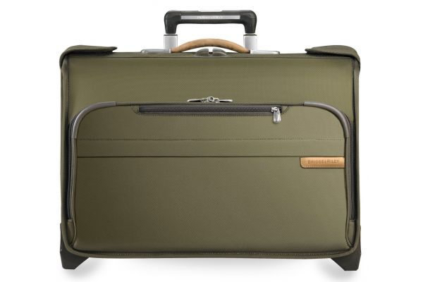 Briggs & Riley Olive Carry-On Wheeled Garment Bag  - U174-7