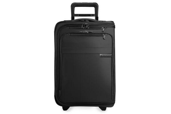 Large image of Briggs & Riley Black Domestic Carry-On Upright Garment Bag  - U175-4
