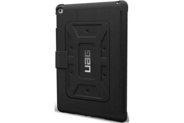 Large image of Urban Armor Gear iPad Air 2 Black Scout Folio - UAG-IPDAIR2-BLKVP