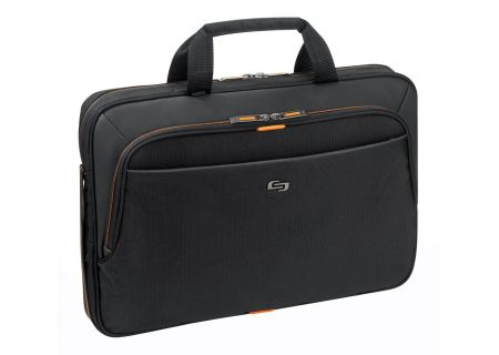 "SOLO Urban 15.6"" Slim Black Briefcase - UBN101-4"