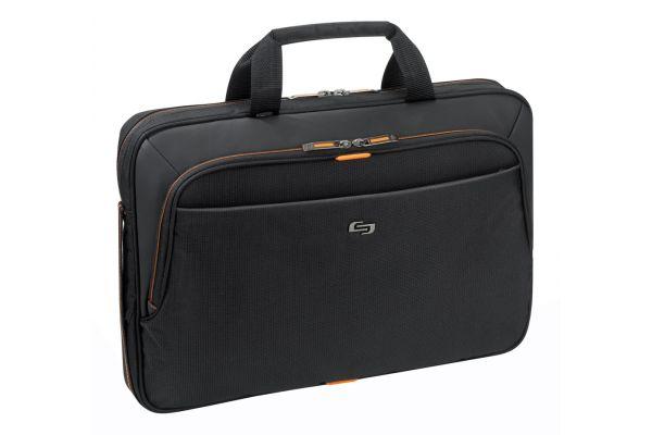 "Large image of SOLO Urban 15.6"" Slim Black Briefcase - UBN101-4"