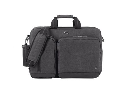 "SOLO Urban 15.6"" Grey Hybrid Briefcase  - UBN310-10"