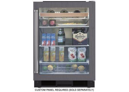 Sub-Zero - UC-24BG/O-RH - Wine Refrigerators and Beverage Centers