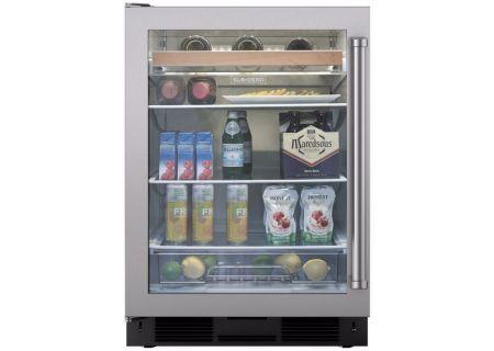 Sub-Zero - UC-24BG/S/PH-LH - Wine Refrigerators and Beverage Centers