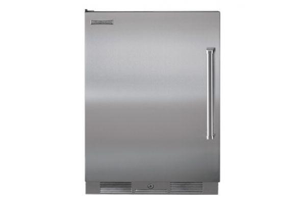 "Sub-Zero 24"" Stainless Steel Outdoor Undercounter Compact Refrigerator - UC-24RO/PH-LH"