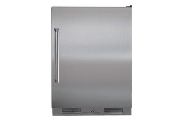 "Sub-Zero 24"" Stainless Steel Outdoor Undercounter Compact Refrigerator - UC-24RO/PH-RH"
