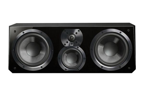 SVS Piano Gloss Black Ultra Center Channel Speaker - ULTRACENTERPGB