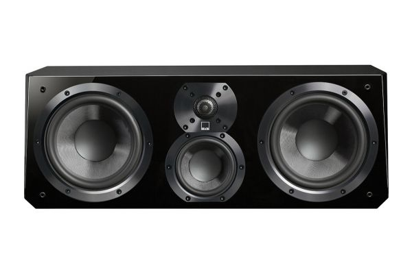Large image of SVS Piano Gloss Black Ultra Center Channel Speaker - ULTRACENTERPGB