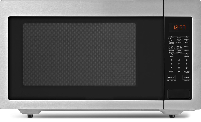 Whirlpool Fingerprint Resistant Stainless Steel Countertop Microwave Oven Umc5225gz