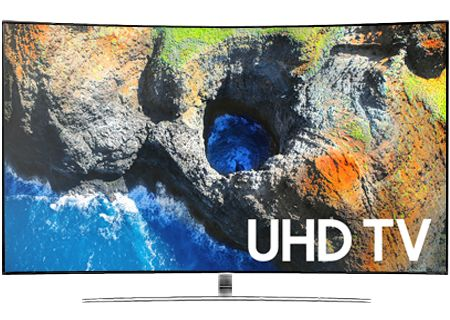 "Samsung 49"" Black Curved UHD 4K HDR LED Smart HDTV - UN49MU6500FXZA"