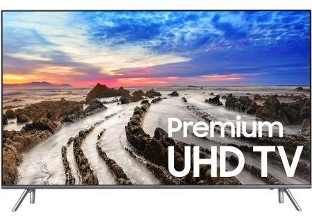 """Samsung 82"""" Silver UHD 4K HDR LED Smart HDTV - UN82MU8000FXZA"""