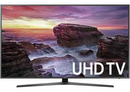 "Samsung 58"" Black UHD 4K HDR LED Smart HDTV - UN58MU6070FXZA"