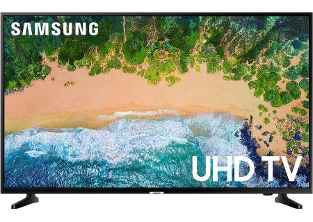 "Samsung 50"" Glossy Black UHD 4K HDR LED Smart HDTV - UN50NU6900FXZA"