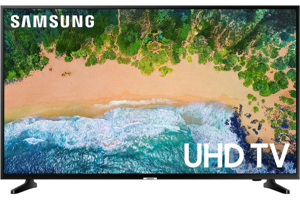 "Samsung 50"" Glossy Black UHD 4K HDR LED Smart HDTV - UN50NU6900BXZA"