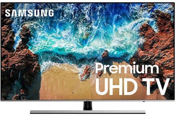 "Samsung 55"" Silver UHD 4K HDR LED Smart HDTV - UN55NU8000FXZA"