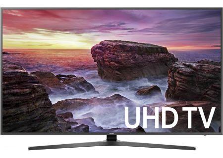 "Samsung 75"" Black UHD 4K HDR LED Smart HDTV - UN75MU6290FXZA"