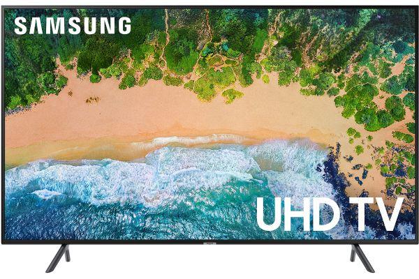 "Large image of Samsung 75"" Glossy Black UHD 4K HDR LED Smart HDTV - UN75NU6900FXZA"
