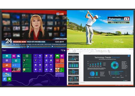 "Planar 98"" UltraRes Series Black Professional LED Display - 997-7960-00"