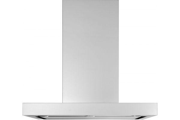 "Large image of GE 30"" Stainless Steel Designer Wall Mount Hood - UVW9301SLSS"