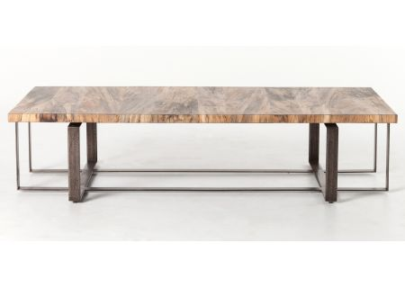 Four Hands Wesson Collection Spalted Primavera Brant Coffee Table - UWES-005B