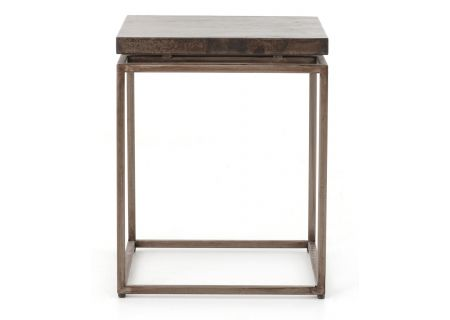 Four Hands Wesson Collection Roman Side Table  - UWES-009