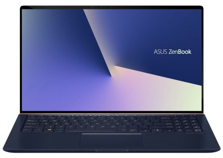"ASUS ZenBook 15 Royal Blue 15.6"" Laptop Intel i7-8565U 16GB RAM 512GB SSD, NVIDIA GeForce GTX 1050 MaxQ - UX533FD-DH74"